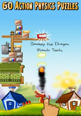 Screenshots of the Super Dragon game for iPhone, iPad or iPod.