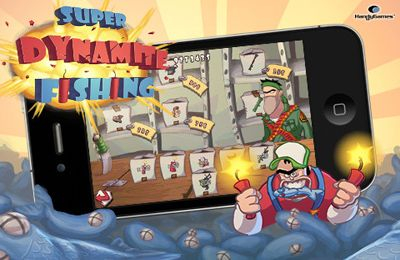 Download Super Dynamite Fishing iPhone free game.