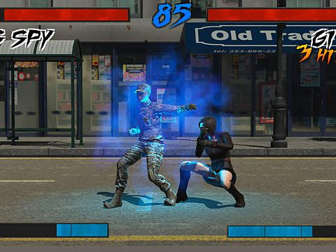 Free Super fighter DX download for iPhone, iPad and iPod.