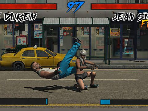 Screenshots of the Super fighter DX game for iPhone, iPad or iPod.