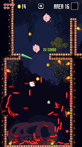 Screenshots do jogo Super fowlst para iPhone, iPad ou iPod.