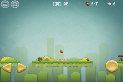 Screenshots of the Super Hedgehog game for iPhone, iPad or iPod.
