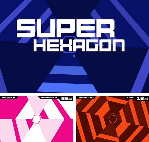 In addition to the game Tapper: World tour for iPhone, iPad or iPod, you can also download Super hexagon for free.