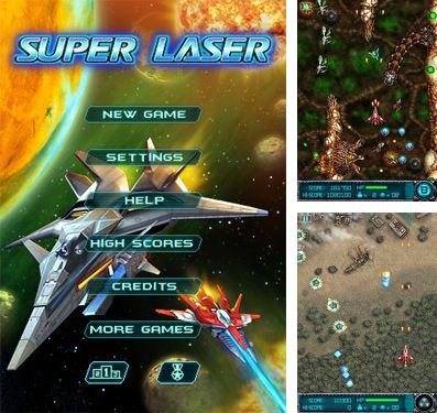 In addition to the game Speedway GP 2011 for iPhone, iPad or iPod, you can also download Super Laser: The Alien Fighter for free.