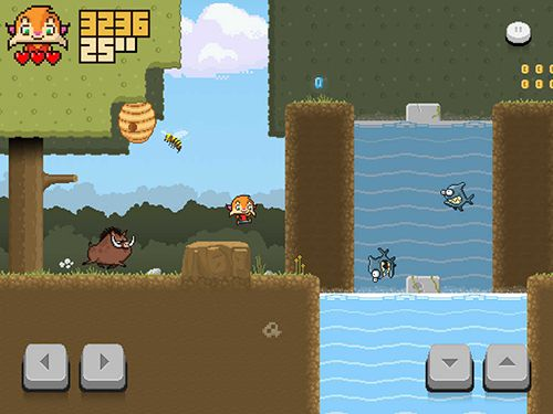 Screenshots of the Super lynx rush game for iPhone, iPad or iPod.