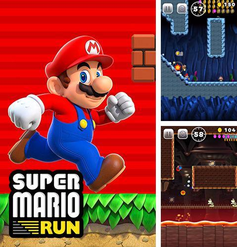 In addition to the game Super Mario run for iPad, you can download Super Mario run for iPhone, iPad, iPod for free.