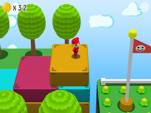 Download Super Maurer: 3D world iPhone free game.