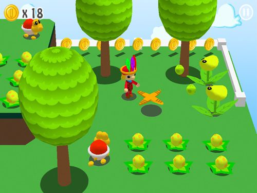 Screenshots of the Super Maurer: 3D world game for iPhone, iPad or iPod.
