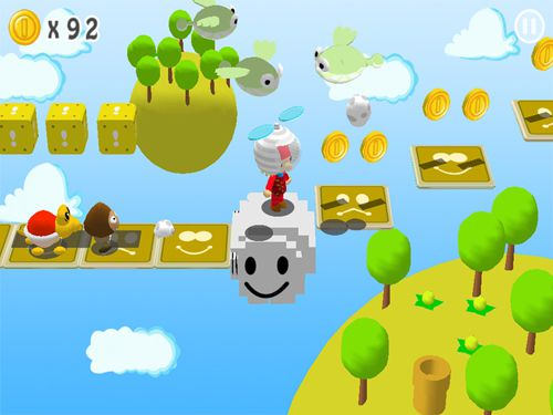 Capturas de pantalla del juego Super Maurer: 3D world para iPhone, iPad o iPod.