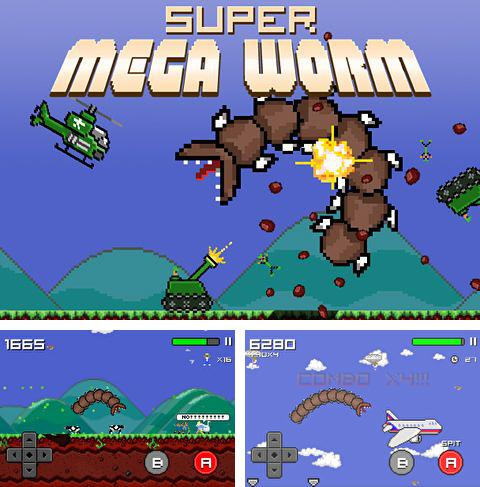 In addition to the game Block breaker 3: Unlimited for iPhone, iPad or iPod, you can also download Super mega worm for free.