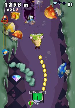 Capturas de pantalla del juego Super Mole Escape para iPhone, iPad o iPod.