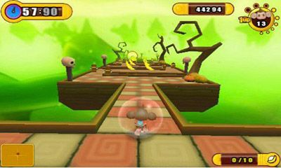 Écrans du jeu Super Monkey Ball 2 pour iPhone, iPad ou iPod.