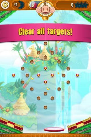 Screenshots of the Super monkey: Ball bounce game for iPhone, iPad or iPod.