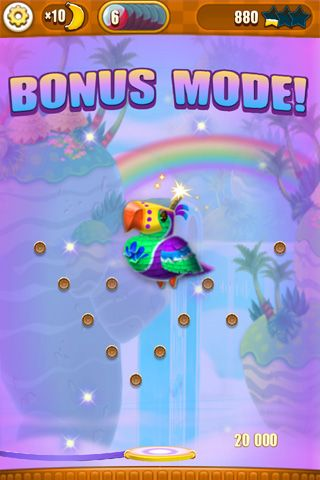 Écrans du jeu Super monkey: Ball bounce pour iPhone, iPad ou iPod.