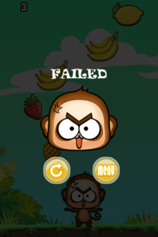Capturas de pantalla del juego Super monkey: Fruit para iPhone, iPad o iPod.