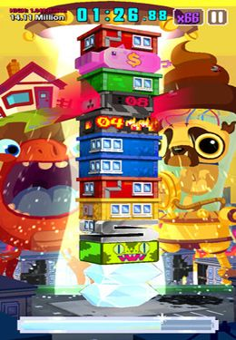 Free Super Monsters Ate My Condo! download for iPhone, iPad and iPod.