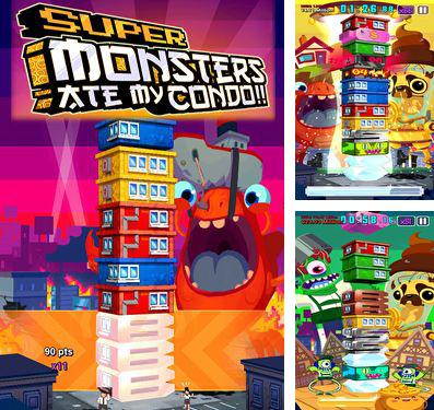 In addition to the game Super Monsters Ate My Condo! for iPad Air 2 (Wi-Fi), you can download Super Monsters Ate My Condo! for iPhone, iPad, iPod for free.
