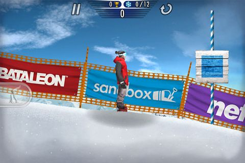 Capturas de pantalla del juego Super pro snowboarding para iPhone, iPad o iPod.