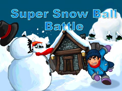 Super snow ball battle