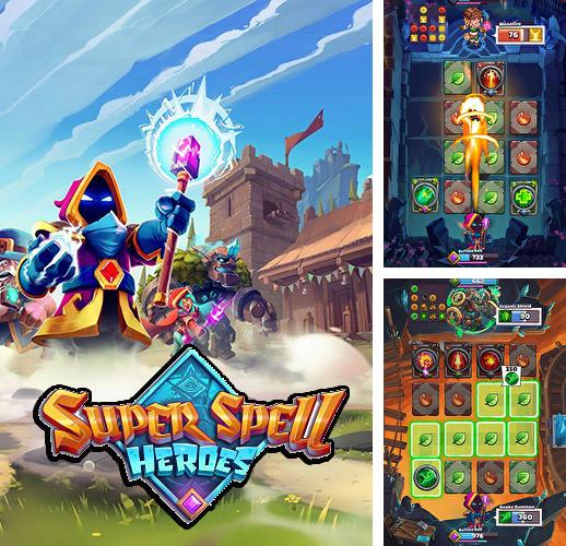 Download Super spell heroes iPhone free game.