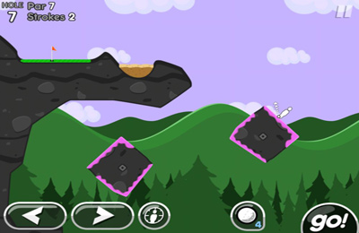 Écrans du jeu Super Stickman Golf 2 pour iPhone, iPad ou iPod.