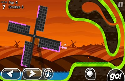 Screenshots of the Super Stickman Golf 2 game for iPhone, iPad or iPod.