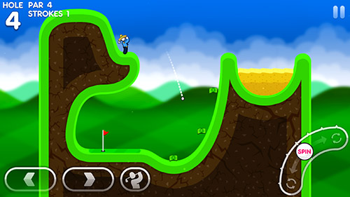 Baixe Super stickman golf 3 gratuitamente para iPhone, iPad e iPod.