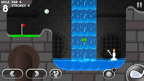 Screenshots do jogo Super stickman golf 3 para iPhone, iPad ou iPod.