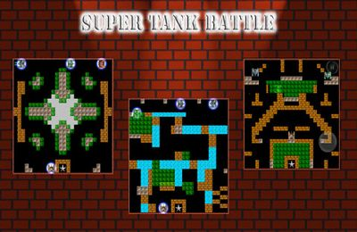 Écrans du jeu Super Tank Battle pour iPhone, iPad ou iPod.