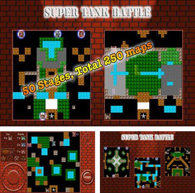 In addition to the game Dungelot for iPhone, iPad or iPod, you can also download Super Tank Battle for free.