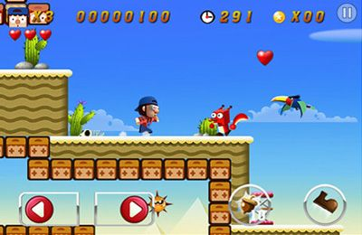 iPhone、iPad 或 iPod 版Super World Adventures游戏截图。