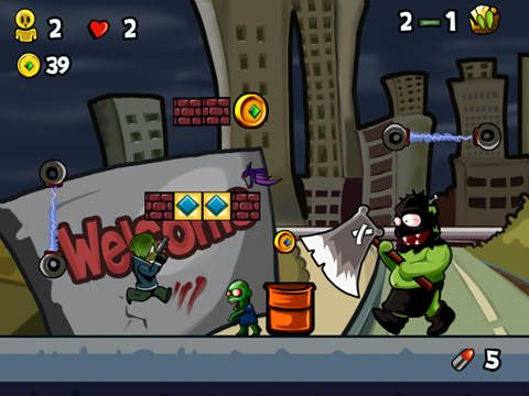 Free Super zombie ninja vs. zombies world download for iPhone, iPad and iPod.
