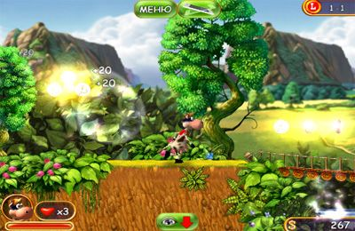 Download Supercow Funny Farm iPhone free game.