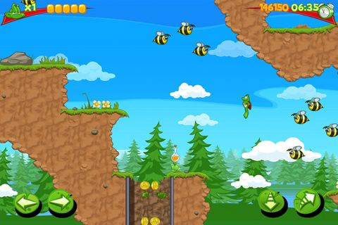 Download Superfrog iPhone free game.