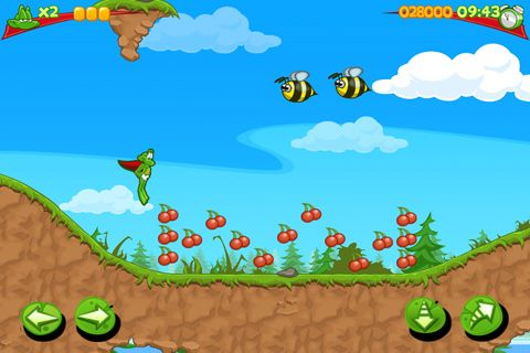 Free Superfrog download for iPhone, iPad and iPod.