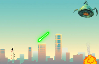 Download Superhero Stickman iPhone free game.