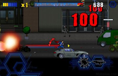 Screenshots do jogo Superman para iPhone, iPad ou iPod.