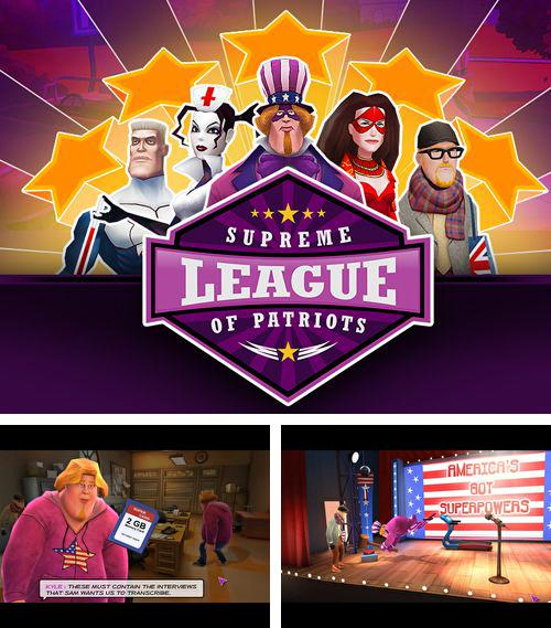 In addition to the game Coaster Crazy Deluxe for iPhone, iPad or iPod, you can also download Supreme league of patriots for free.