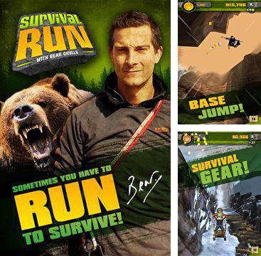 除了 iPhone、iPad 或 iPod 雷霆救兵游戏,您还可以免费下载Survival Run with Bear Grylls, 荒野求生。