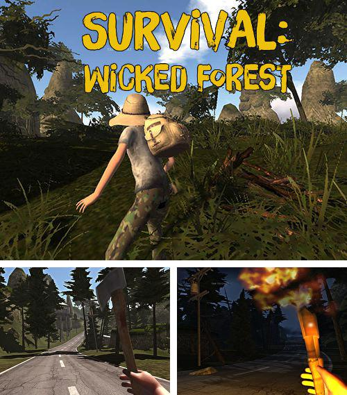In addition to the game Creepy dungeons for iPhone, iPad or iPod, you can also download Survival: Wicked forest for free.