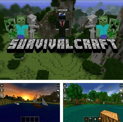 In addition to the game Escargot kart for iPhone, iPad or iPod, you can also download Survivalcraft for free.
