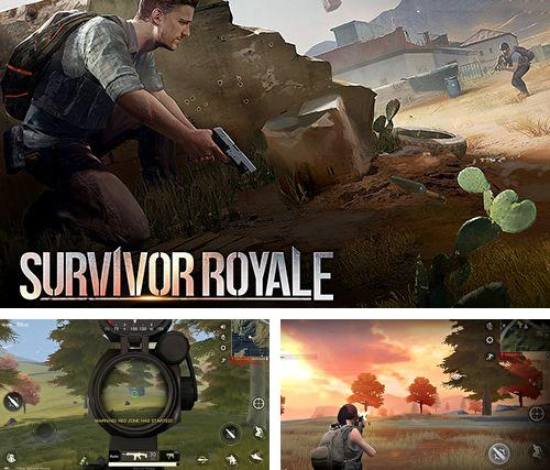 除了 iPhone、iPad 或 iPod 游戏,您还可以免费下载Survivor royale, 。