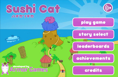 Download Sushi Cat iPhone free game.