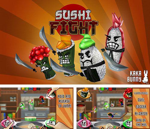 In addition to the game Why does it spin? for iPhone, iPad or iPod, you can also download Sushi fight for free.