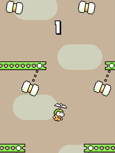 Download Swing copters iPhone free game.