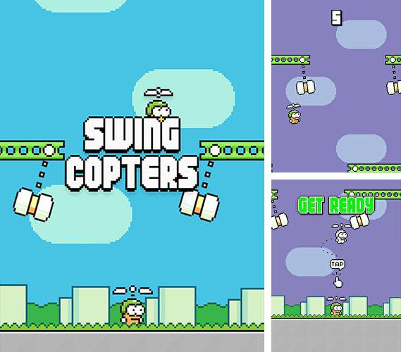 In addition to the game Oddworld: Munch's oddysee for iPhone, iPad or iPod, you can also download Swing copters for free.