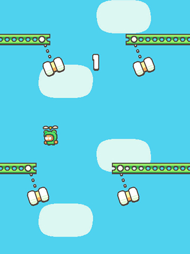 Download Swing copters 2 iPhone free game.