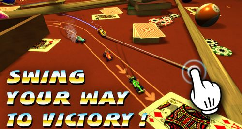 Игра Swing racers для iPhone