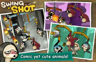 Download Swing Shot PLUS iPhone free game.