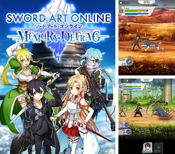 In addition to the game Flappy bird for iPhone, iPad or iPod, you can also download Sword art online: Memory defrag for free.